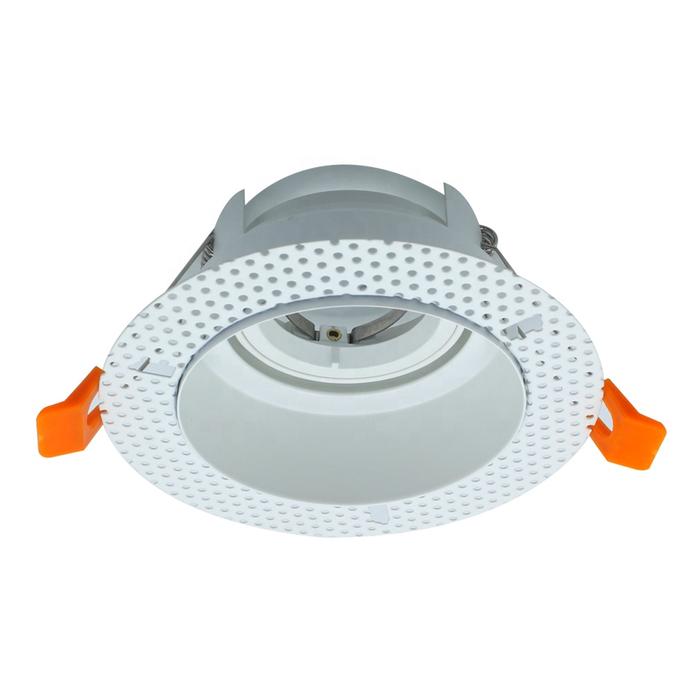 Hot sale round led trimless iron <strong>downlight</strong> trimless Recessed Office Lighting Led <strong>Downlight</strong>