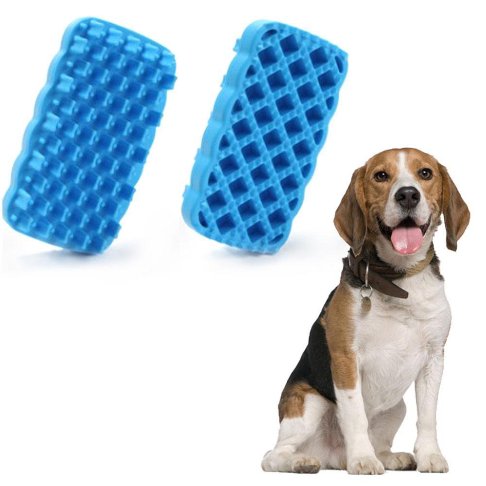 FDA Approved Accept Custom Order Manufacturer Pet Supplies Accessories Silicone Grooming Cleaning Brush