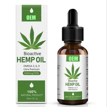1000MG,3000MG,5000MG Pure Natural Food Grade CBD Premium Hanf ätherisches Öl