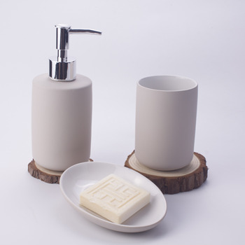 Wholesale Bath Hotel Set Bathroom Accessories Colorful Bathroom Decoration Ceramic Set