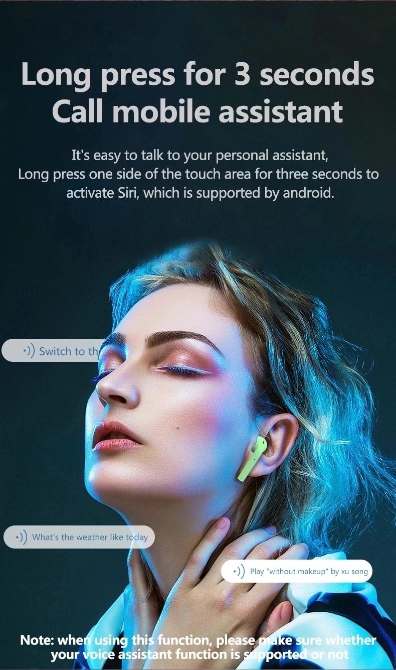 Hot Bán Sản Phẩm Xách Tay Trắng Tai Nghe Bluetooth Bán Buôn Rất Nhiều Tai Nghe Wifi Tai Nghe Với Sạc Trường Hợp Trong Tai Tai