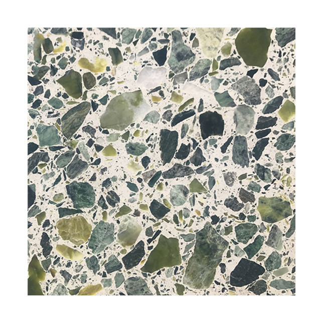 Green Glass Terrazzo Floor Tiles And Slabs View Man Made Stone Slabs China Cheap Price Boton Stone Product Details From Yunfu Boton Stone Co Ltd