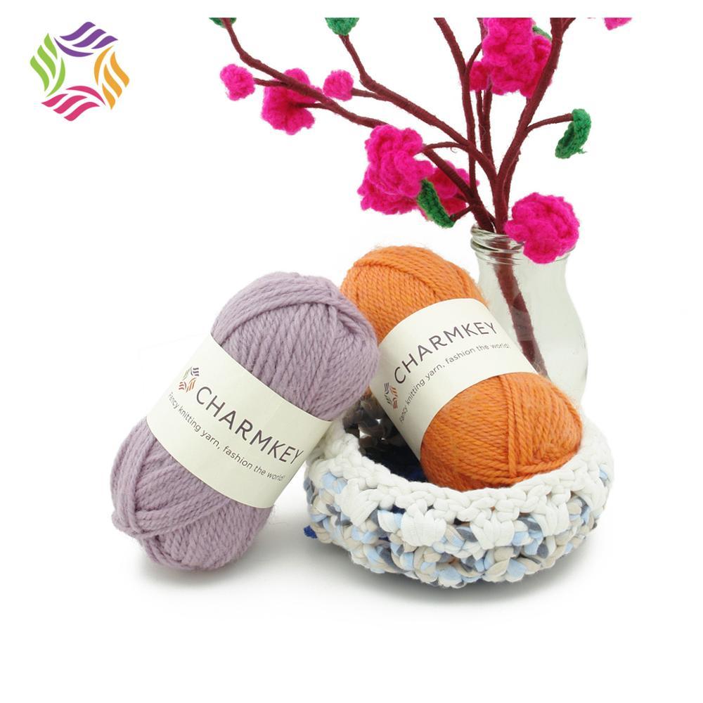 China Wholesale Charmkey Merino Wool Hand Knitting Yarn for Knitting Garment