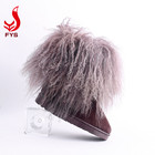 Waterproof Sheepskin Fur Winter Boot Fashion Waterproof Women Lady Kids Baby Size Mongolian Lamb Sheepskin Fur Winter Snow Boots Manufacturer