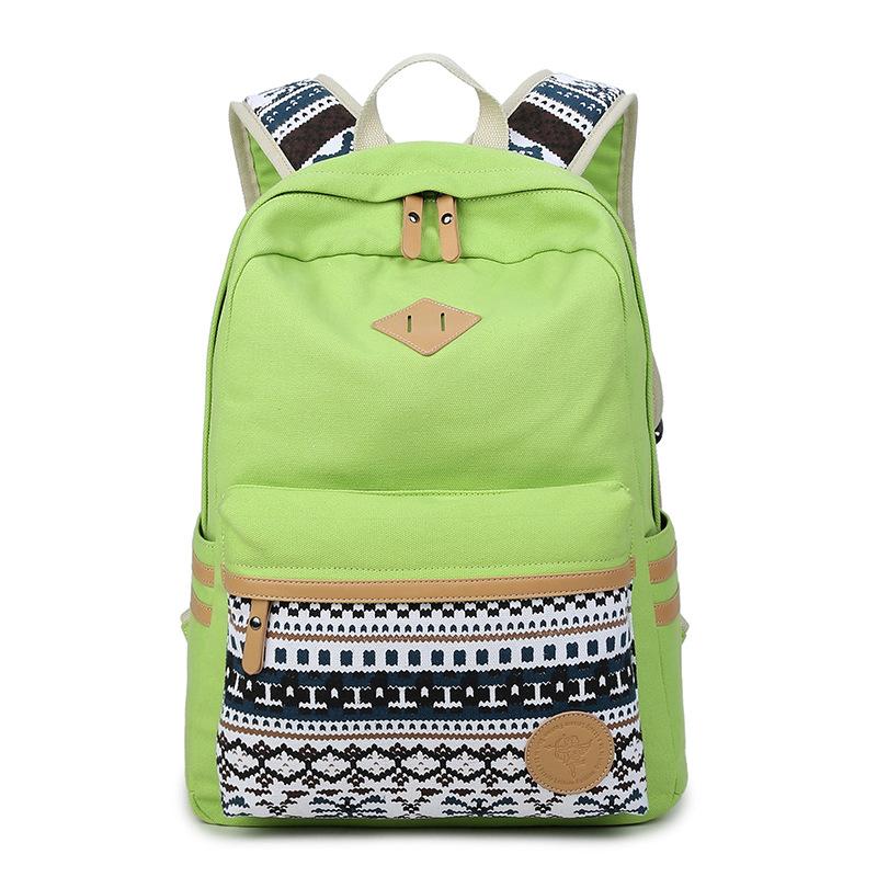 स्कूल के लिए Backpacks लड़कियों बच्चों किशोर स्कूल बैग Bookbags, आकस्मिक हल्के प्रिंट बैग लड़कियों और महिलाओं के लिए
