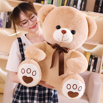 Giant bear 80cm 100cm 150cm 200cm customized giant teddy bear plush toy gift