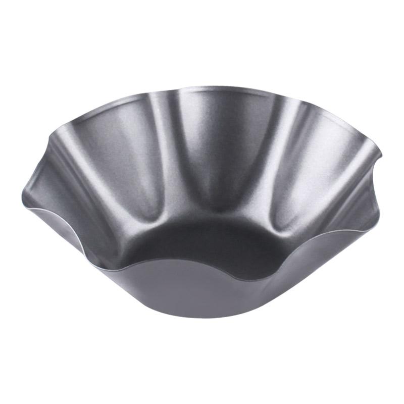 Non Stick Tortilla Pan Tortilla Bowl Makers Taco Salad Bowl Pans Tostada Bakers Tortilla Shell Maker Carbon Steel Black 5 Pcs