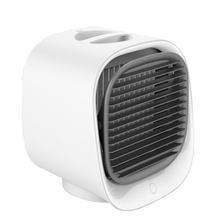 Воздушный кулер вентилятор мини настольный кондиционер с ночным светильник мини USB вентилятор водяного охлаждения увлажнитель очиститель(Китай)