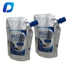 Custom printed plastic juice spout pouch aluminum foil doypack smell proof drink spout pouch
