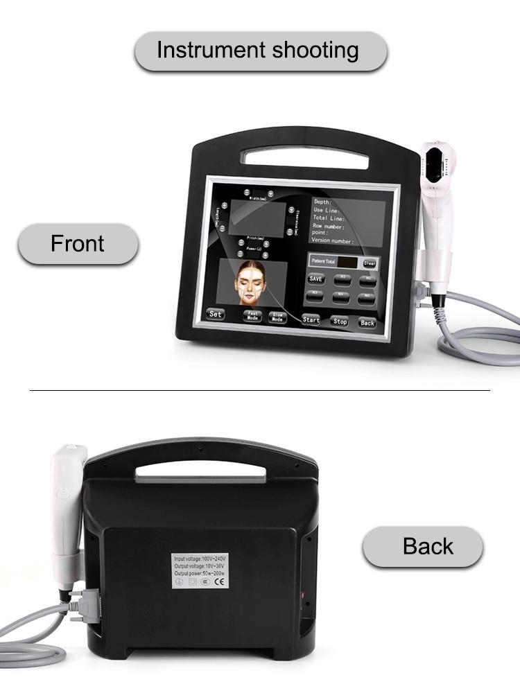 2020 Hot Sales 4D Ultrasound Face Lifting Machine 12 lines Cartridges Ultrasound Anti Aging Equipment with 20000 shots