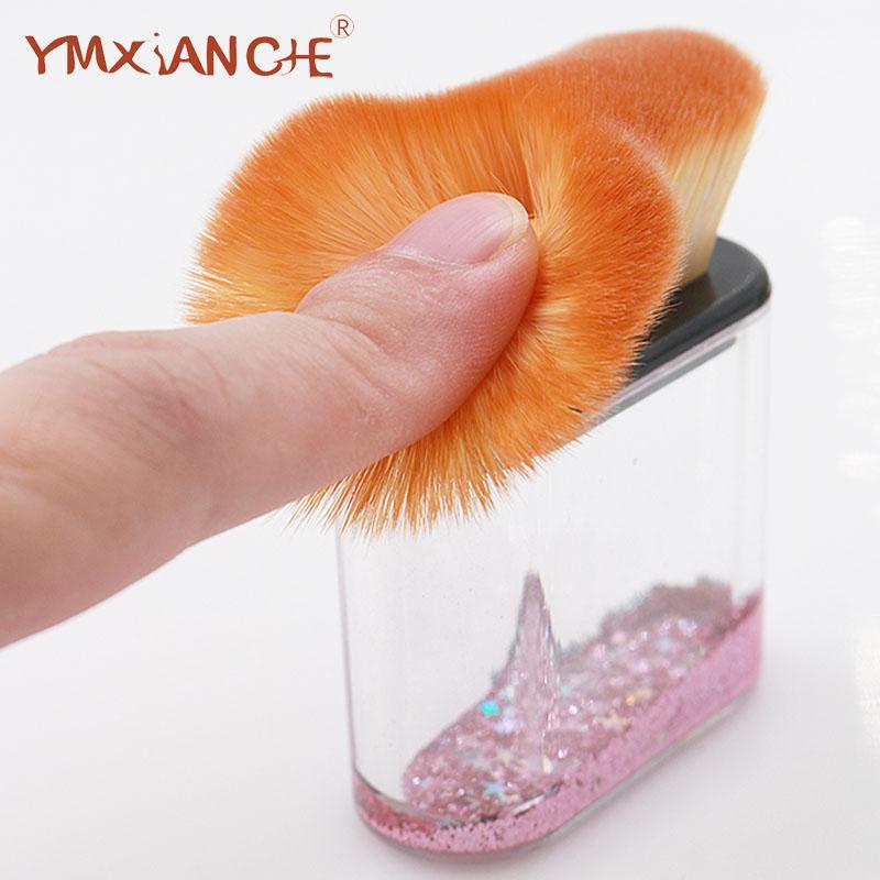 工場カスタマイズされた 10 個透明結晶ダイヤモンド化粧ブラシセット化粧品プロフェッショナルメイクブラシ