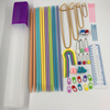 ABS Rod Double Point Knitting Sweater Needle Set Wool Needle Knitting Tool 52 Piece Set