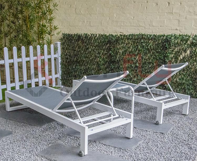Ifenitshala yeAluminiyam Swimming Pool patio igumbi lokuphumla igadi