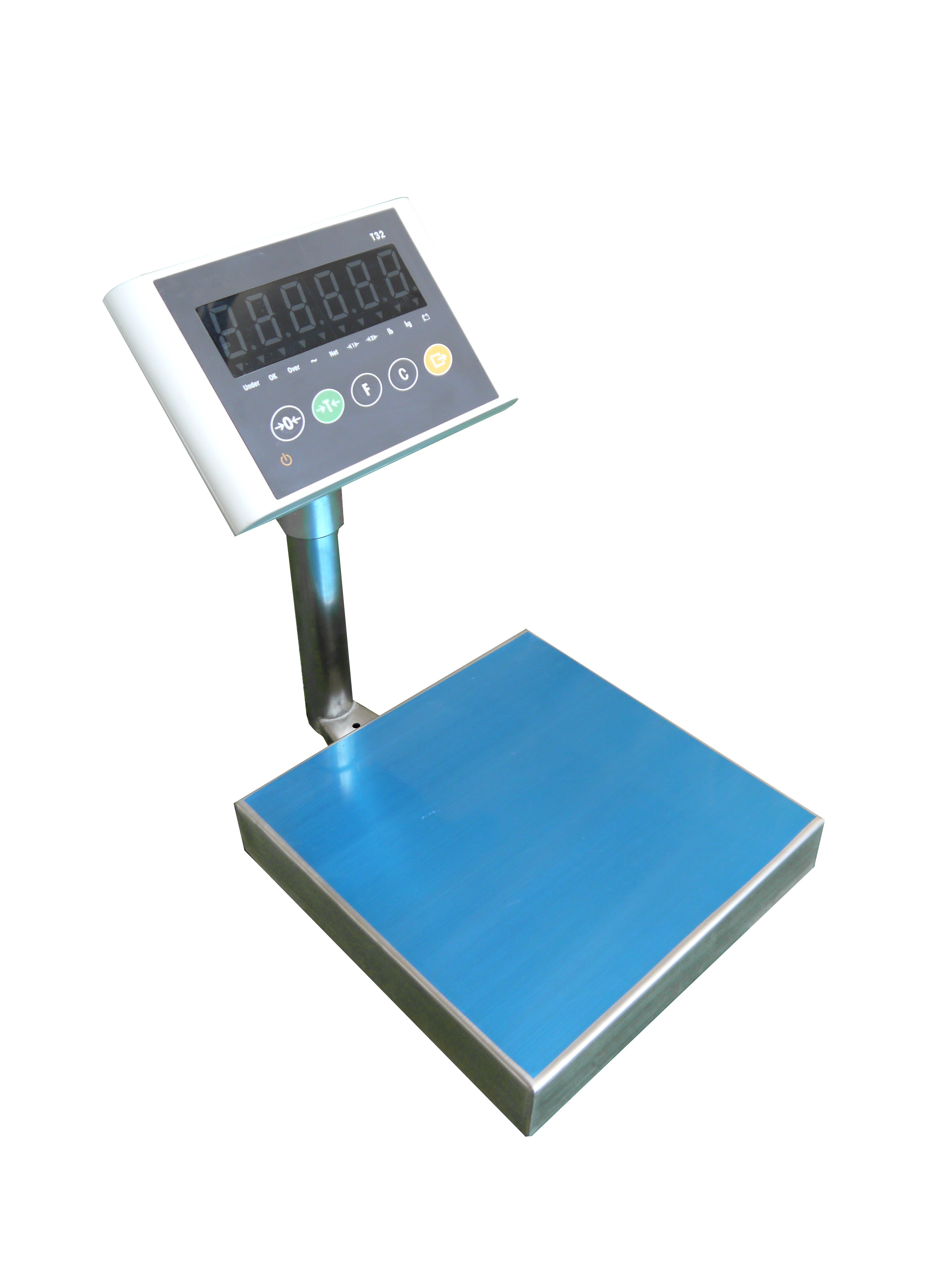 cas table bench table top weighing scale usb scale 30 kg platform scale