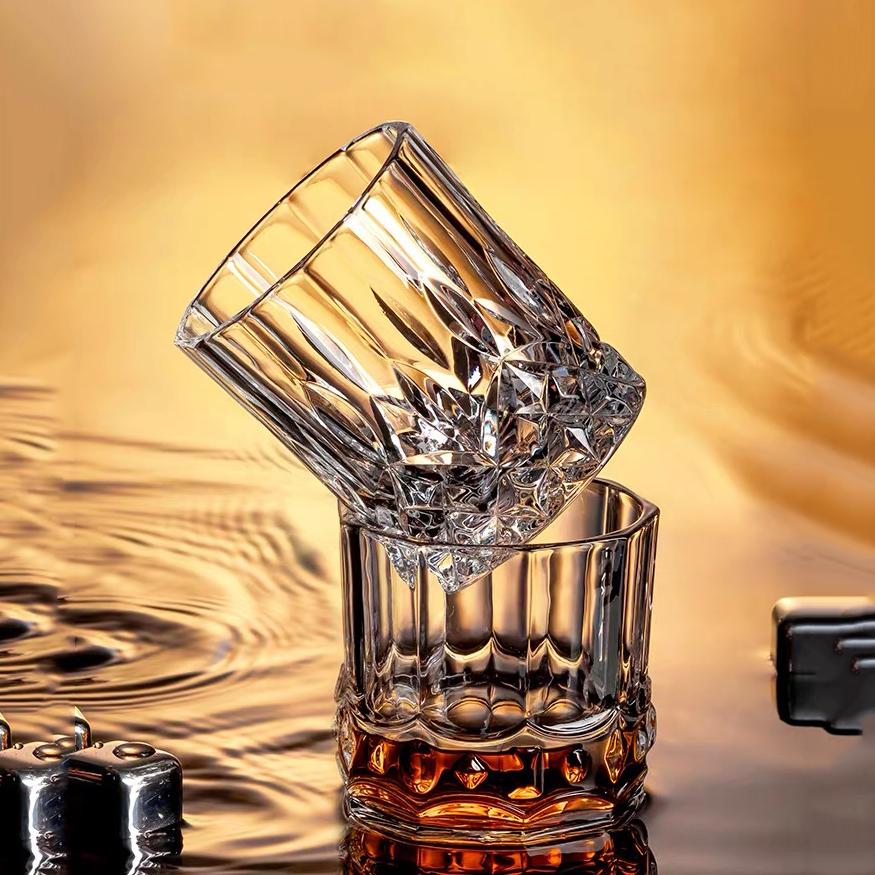Kacamata Wiski Profesional Manufaktur Kaca Kristal Bir Wiski