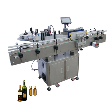 Higee Machinery Automatic Sticker Bottle Labeling Machine, auto labeling machine for round bottles, bottle label applicator