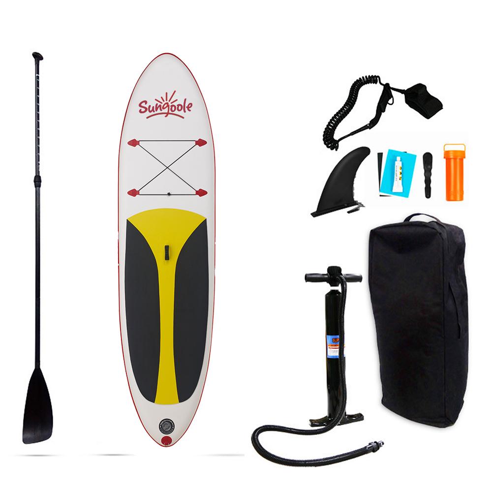 SUNGOOLE Inflatable sup paddle board, Multi-person oem PVC Surfboard Sup inflatable paddle board Surfboard