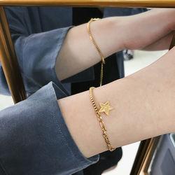 New Arrival Pentacle Bracelets Box Chain Splicing