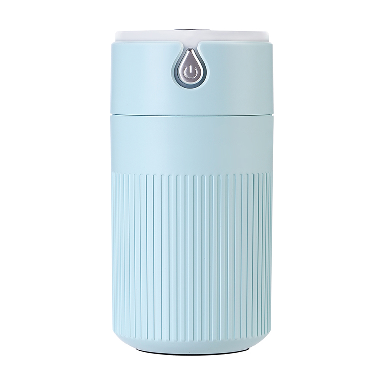 Hot Selling Mist Ultrasonic Battery Colorful LED Light Disinfectant <strong>Portable</strong> <strong>Humidifier</strong> For Sterilization 420ML