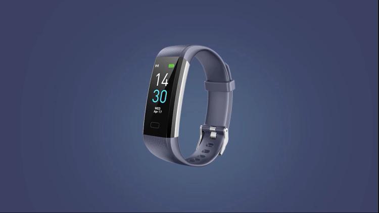Fitness Track Bracelet Heart Rate Body Temperature Sleep Blood Pressure Blood Oxygen Monitor Smart Wristband