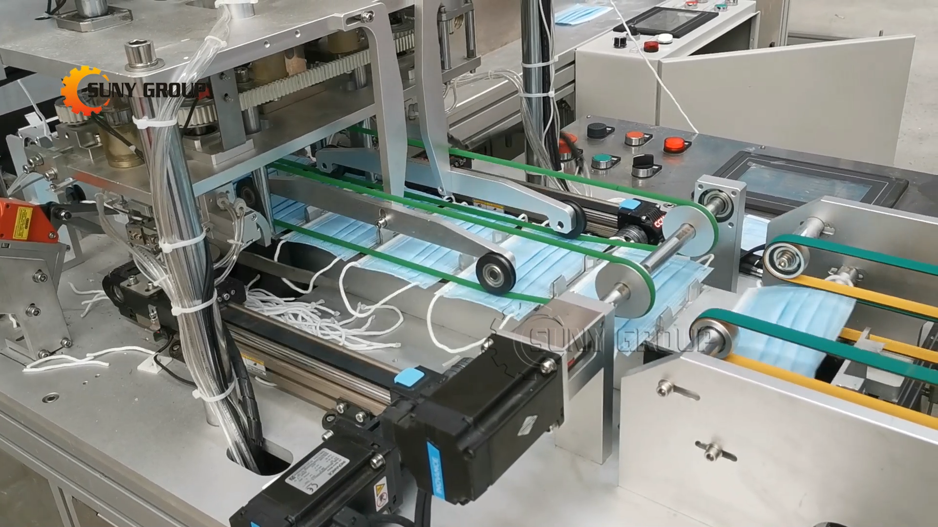 Машина для запечатывания лицевых масок, машина для автоматического изготовления масок