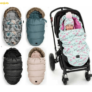 Stroller bag 0-20M winter stroller thickened Double zipper sleeping bag for baby