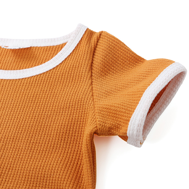 OEM Customize Infant Toddler Clothing Muti Color Newborn Baby Clothes  Babe Rompers Clothes