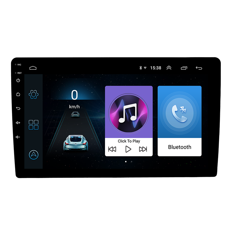 Single Din Mobil Dvd Player 9 Inch Menyentuh Layar Universal Mobil Multimedia Player Hiburan Mobil Stereo Sistem Android