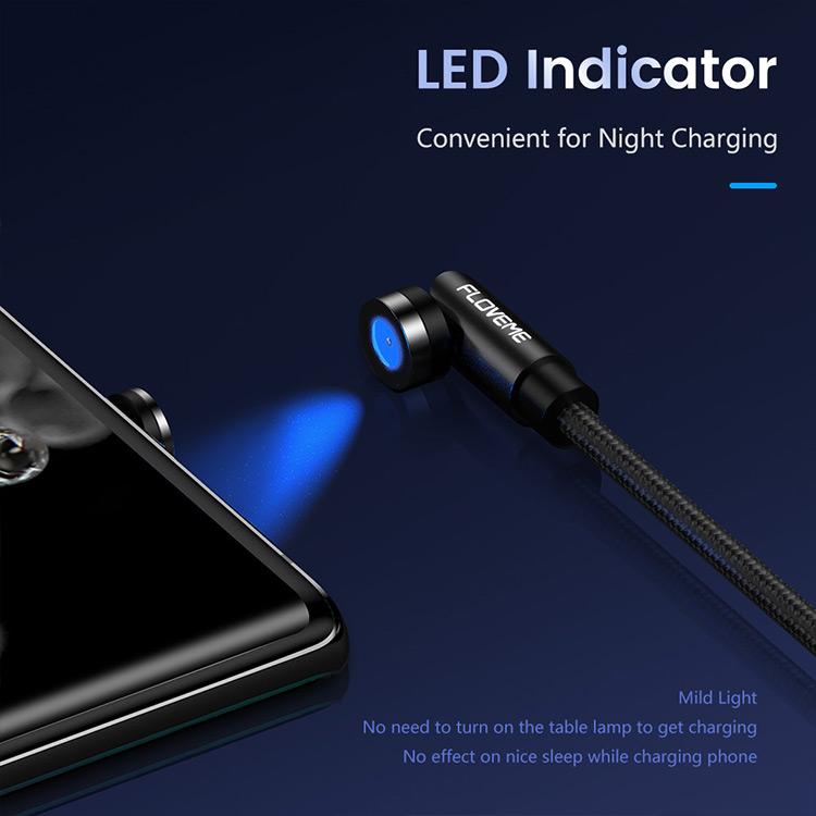 Бесплатная доставка 540 градусов вращения Магнитный телефон зарядное устройство кабель Micro Usb Type C зарядный кабель для Apple зарядное устройство