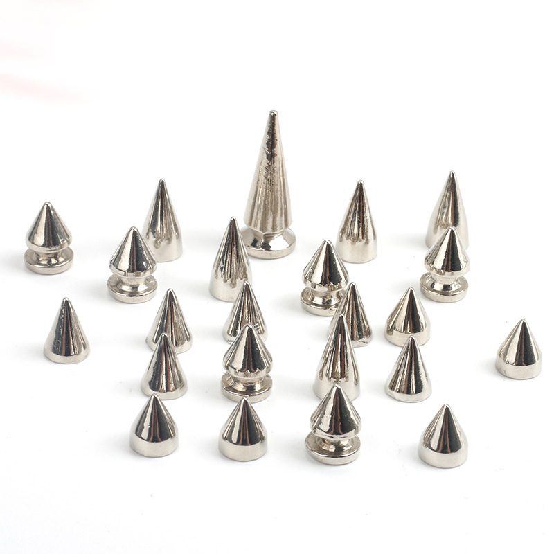 top quality Fashion bullet metal Rivets and Spikes Studs factory for Punk Bags apparel shoes hats