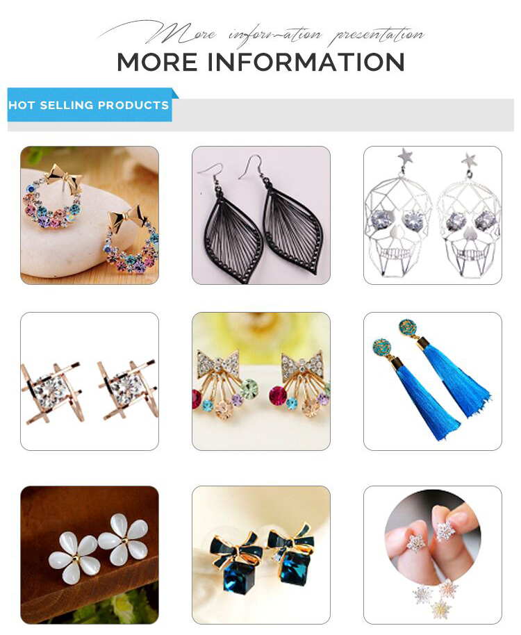 earrings design diy accessories art custom cute aretes de mujer studs rose earring for women earring atmosphere making