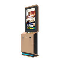 "Fast Food Ordering Payment Machine Android Pos Terminal 32"" All One Touch Screen System Self Service Kiosk Restaurant"
