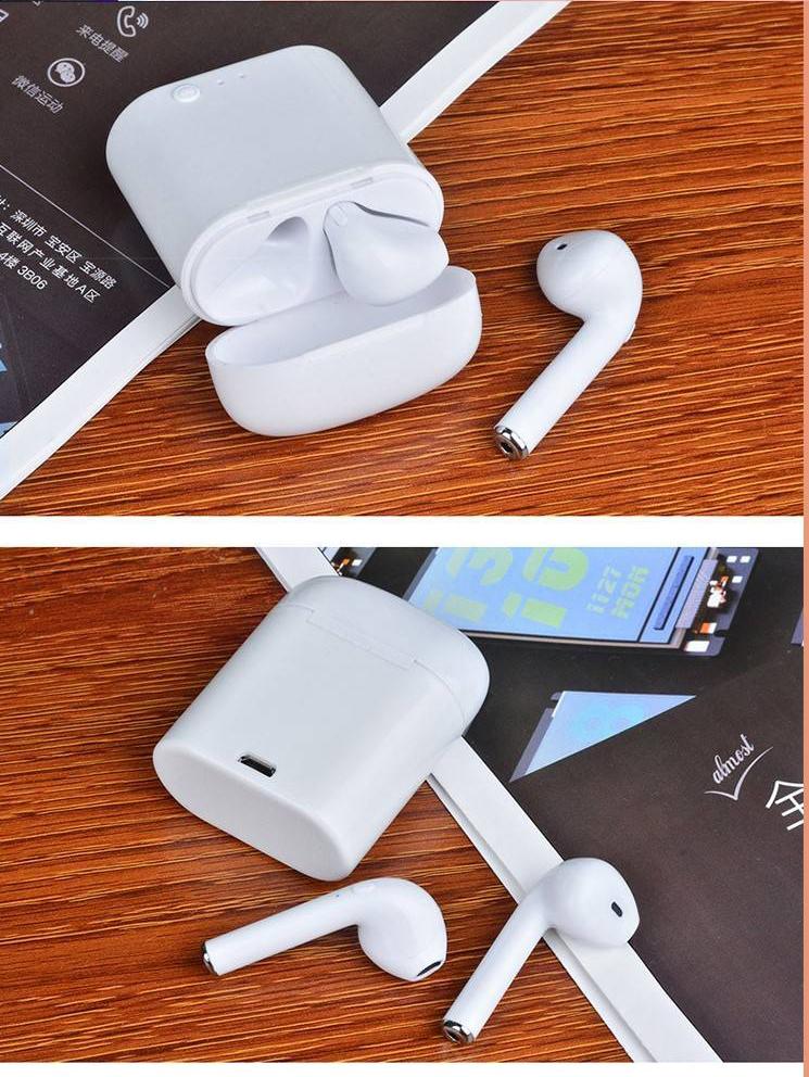 Smart Sport Baik I7s Tws Earbud Audifonos Bluetooths Earphone dengan Charge Kotak