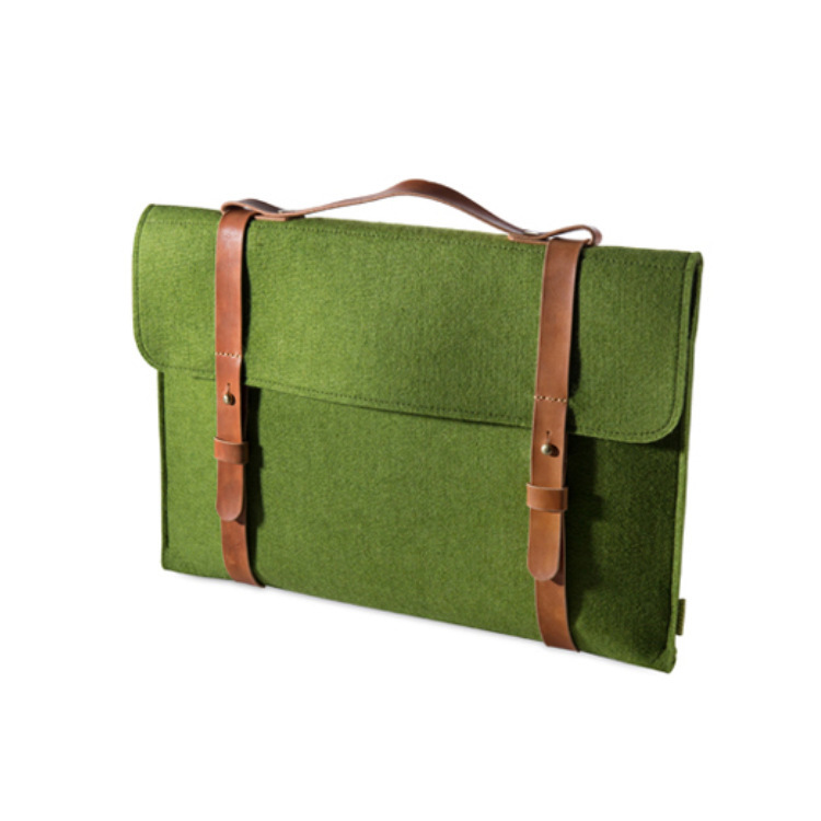 Boshiho RTS Felt Sleeve Carrying bag Fully Protective  Laptop bag Support Customized Felt bag