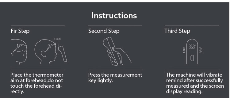 Original Xiaomi Mijia iHealth Infrared thermometer - KingCare | KingCare.net