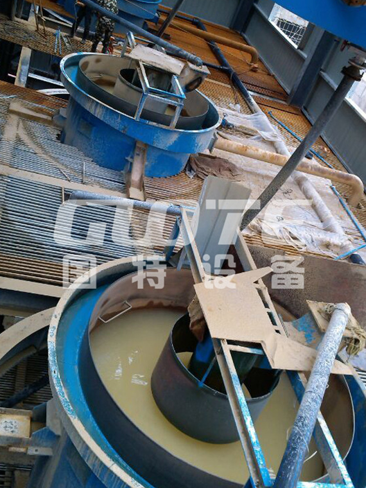Silica Zand Classificatie Machine Mijnbouw Hydraulische Classifier Water Hydraulische Classifier