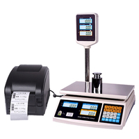 Special ACS-HPC series electronic Price Computing Retail Scale with digital weighing scale with printer