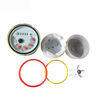 3/4 inch~2 inch woltman water meter and multi jet water meter spare parts counter