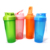600ml Colorful Gym Sports Plastic Shaker Bottle