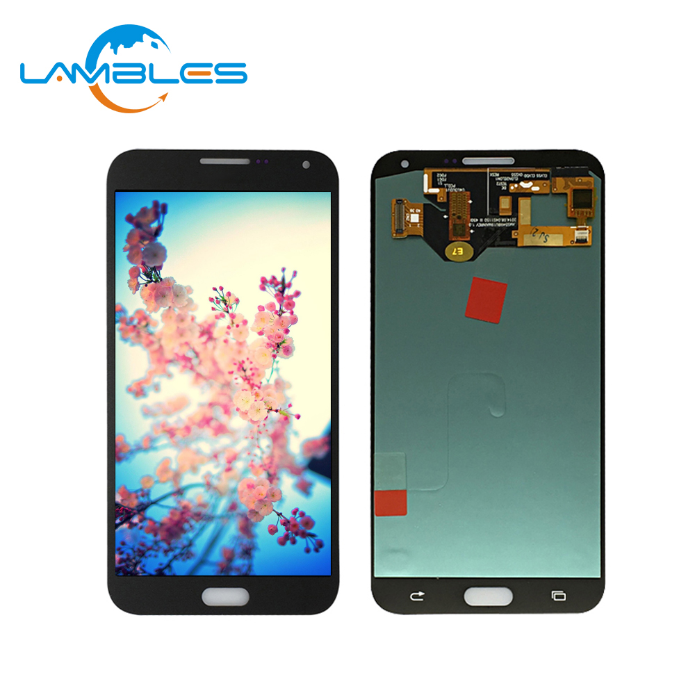 Reparatur teile Für Samsung galaxy E7 E700 E700F E700D/S LCD display montage E700M E700H screen digitizer OEM AMOLED