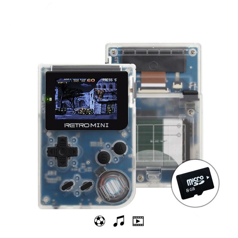 ข้อมูลกบคอนโซลเกม Retro 32 บิตแบบพกพา Mini Handheld ผู้เล่นเกมในตัว 940 สำหรับ GBA เกมคลาสสิกของขวัญของเล่นสำหรับเด็ก