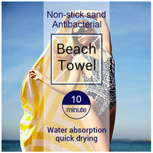 Absorbant Séchage Rapide Sable Extra Large Microfibre Rond <span class=keywords><strong>Serviette</strong></span> <span class=keywords><strong>de</strong></span> <span class=keywords><strong>Plage</strong></span>