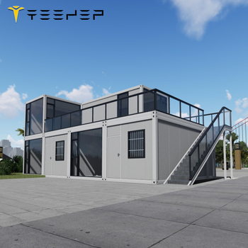 Quick Assembly Commercial Steady Real Estate 40Ft/20ft Container House tiny house