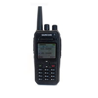 Ham Radio Dual Band VHF UHF 10KM Transceiver Large Battery Capacity Talkie Walkie of SAMCOM AP-400UV Plus