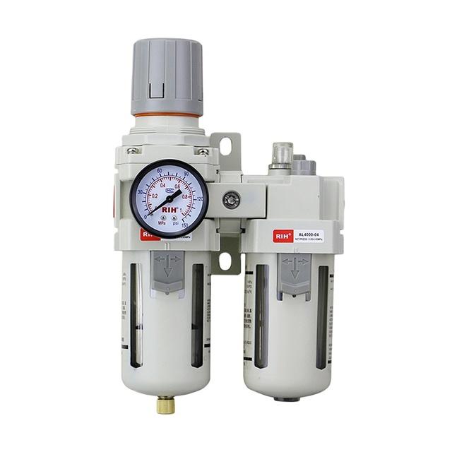 "Set 1//2/"" BSP AC4000-04D Air Source Treatment Unit Lubricator+Filter+Regulator"