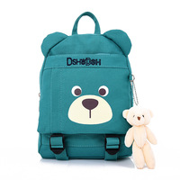 Five Color Cute Bear Kid Preschool Backpack