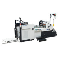 SRFM-2R-1200 Paper Roller To Roller Cold glue Paper Bopp Laminating Machine
