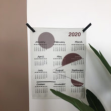 Настенный календарь с принтом, 2020 год(Китай)