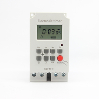 KG316S-2 LCD Big Screen220V 25A 16 or 28 on off Controller Programmable Electronic Digital Timer Switch