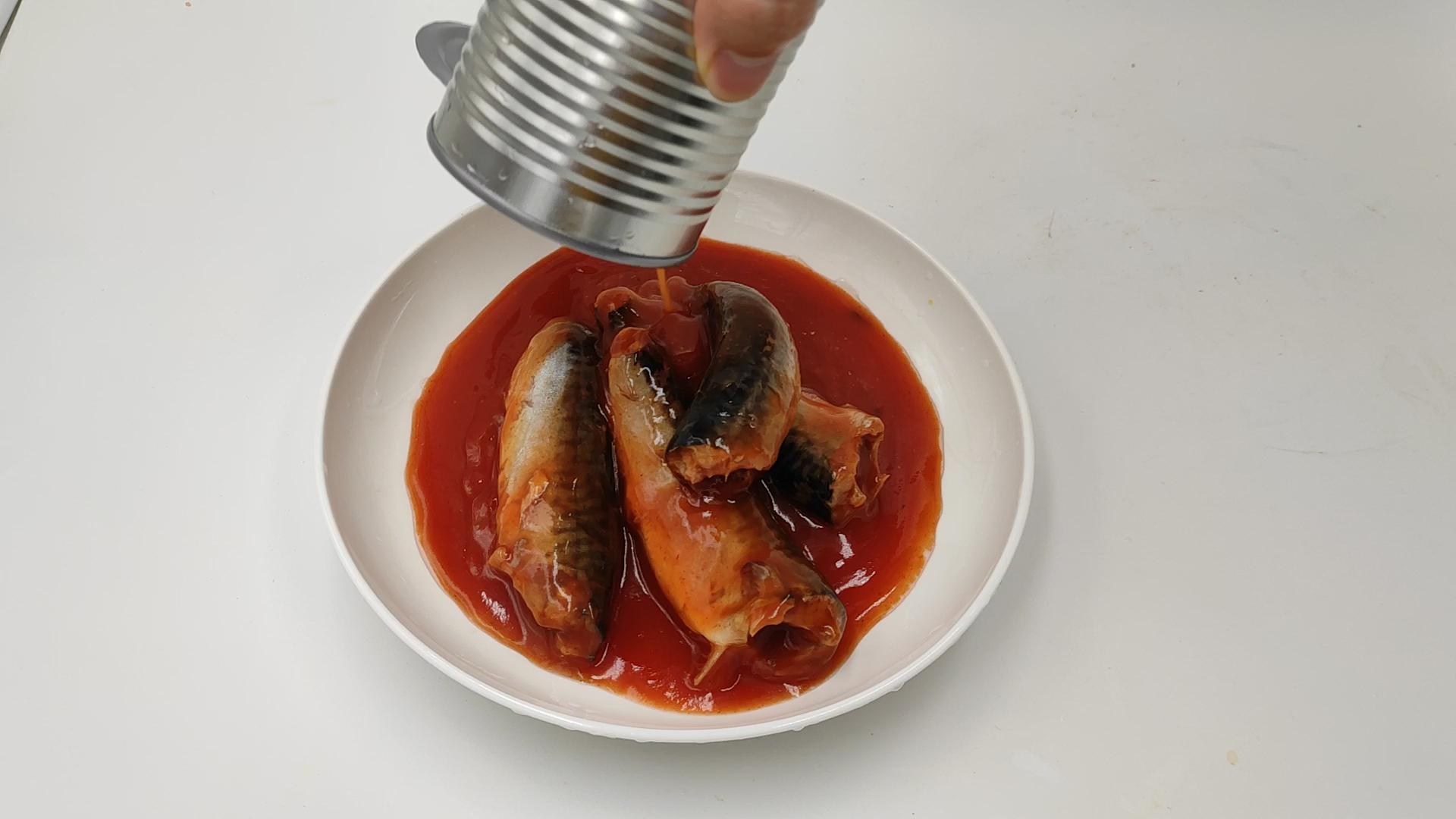 425g Meilleur Prix Facile Ouvert Conserves de Maquereaux À La Sauce Tomate